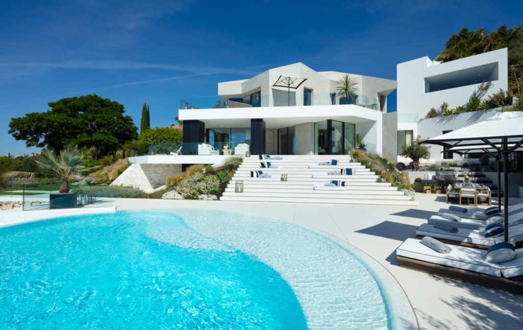 Pool area - property